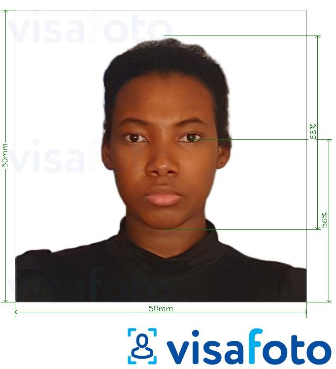 фотография на визу в испанию размер вот